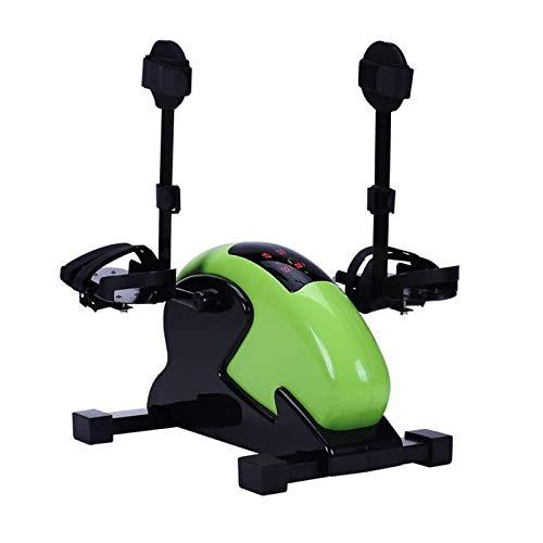 CHENMAO Portátil Mini Ejercicio Bicicletas Arm Rodilla Pedal Pedal Empacitador Equipo de Fitness Multifuncional Eléctrico Anciano Rehabilitación Dispositivo de Entrenamiento