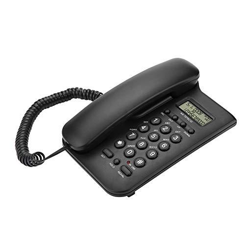 Yunir Teléfono Fijo con Cable, teléfono de Escritorio y teléfono con Cable...