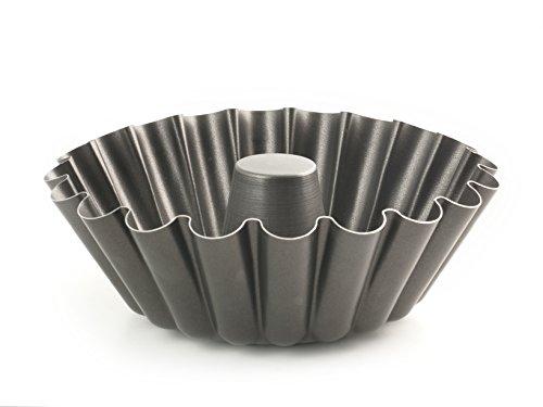 Vespa 919724 Pudding-Form, Antihaftbeschichtung, Gänseblümchen, mit Schlauch 24 cm, Silber