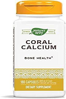 Nature's Way Coral Calcium 600 mg, 180 Count