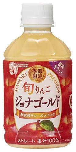 ゴールドパック 旬りんご ジョナゴールド 280ml ×24本