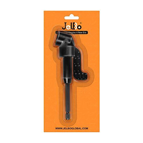 JelBo - Adaptador de taladro de ángulo recto de 105 °, accesorio...