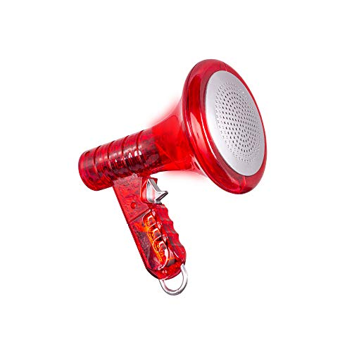 Fun Central Multi Voice Changer for Kids Party Favors with 8 Differernt Voice Modifiers - Red