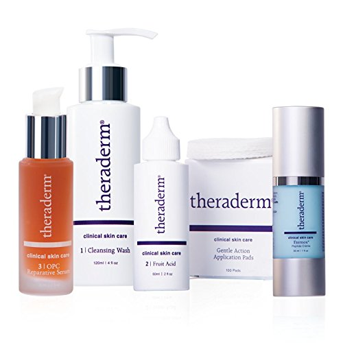 Theraderm Anti-Aging Skin Care System - Daily, powerful anti-aging regimen - 3-month supply