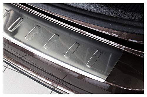tuning-art 613 Edelstahl Ladekantenschutz mit Abkantung Fahrzeugspezifisch