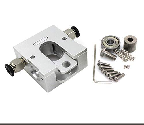 LIZONGFQ Zhang Asia Impresora 3D Accesorios Reprap Bulldog Extrusora Partes remotas de proximidad Full Metal 3D J-Cabeza