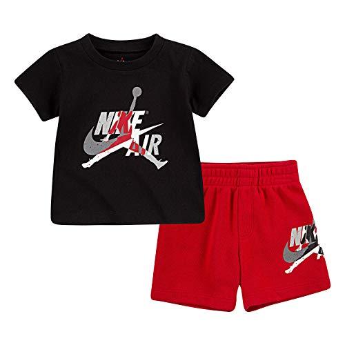Nike Air Jordan Set 2 PC Tuta Bambino Nera 656941-R78 (18M)