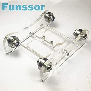 HEASEN arylic Printrbot Adjustable Spool Coaster 3 D Printer Filament Holder Spool Holder