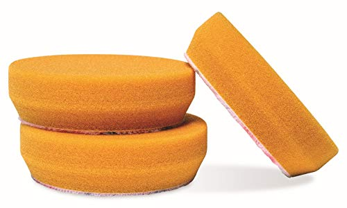 "Griot's Garage 11241 3"" Orange Polishing Pad (Set of 3)"