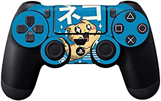 MightySkins Skin Compatible with Sony PS4 Controller - Feline Kawaii | Protective, Durable, and Unique Vinyl Decal wrap Cover | Easy to Apply, Remove, and Change Styles | Made in The USA