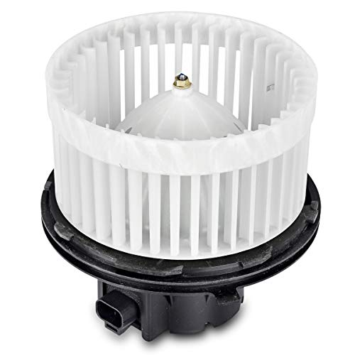 ABS Plastic Heater Blower Motor with Fan Cage Compatible with 2002-2006 Cadillac Escalade 2002 Chevrolet Avalanche 1500 1999-2002 Chevrolet Silverado 1999-2002 GMC Sierra 2000-2002 GMC Yukon & More