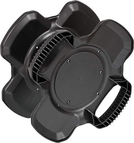 Brennenstuhl Gummi-Kabelhaspel X-Gum / Leertrommel (aus Spezial-Gummimischung für Dauerbelastung, Made in Germany)