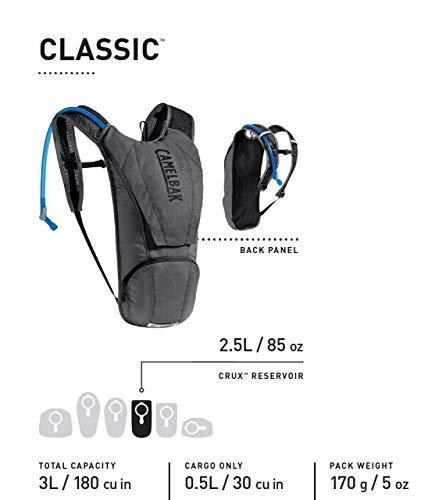 CamelBak Unisex– Erwachsene Classic Trinkrucksack, Blau, 85oz - 3