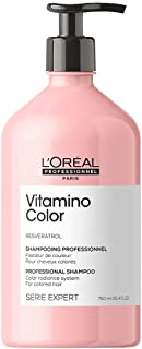 L'Oréal Professionnel   Shampoo, With Resveratrol for Coloured Hair, Serie Expert Vitamino Colour, 750 ml