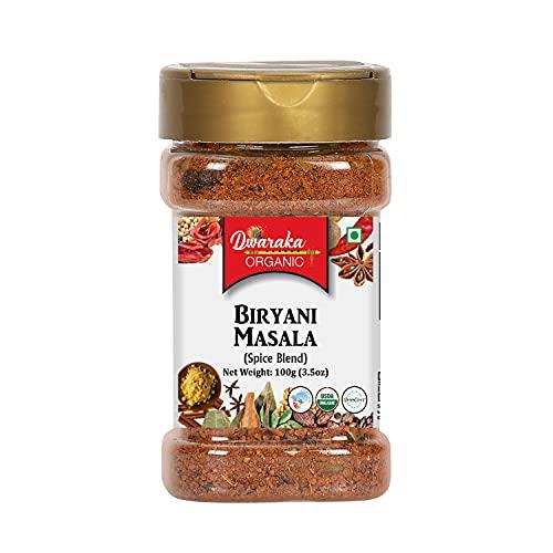 Dwaraka Organic - Biryani Masala, 3.5oz, Healthy, Organic, Non GMO, All Natural