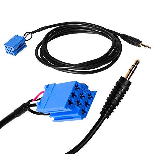 Adapter-Universe® 5360 Aux Adaptateur in Line Fiche de Cordon Radio Voiture pour iPod