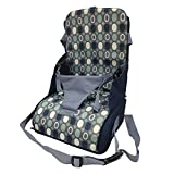 Chuanfeng Tischsitz Faltbar Babysitz Baby Hochstuhl Sitzerhöhung Portable Hochstuhl Reise Sitzbezug...