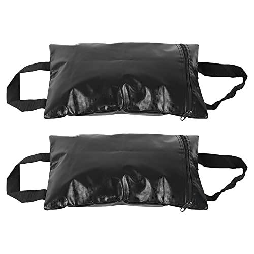 Wosune Bolsa de de fijación a Prueba de Viento, Material de PVC Carpa de Peso Refugios Bolsa de Conveniente para Llevar al Aire Libre para Red de béisbol