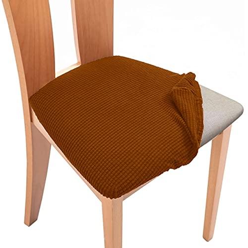 UKKO Coprisedie con Coperchio Sedia Rimovibile Spandex Elastic Plain Protector Desk Seat per Wedding...