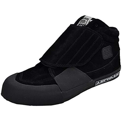 Airwalk Vic Black Suede Schuhe Größe: US 8,5