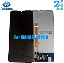 Phone-Mobile Phone LCD Screens - original UMIDIGI A5 PRO LCD Display and Touch Screen 6.3 inch A5 PRO Screen Digitizer Assembly Replacement +Tools stock (Black)