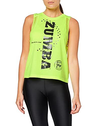 Zumba Dance Atlético Estampado Fitness Camiseta Mujer Sueltas de Entrenamiento Top Deportivo Tank...