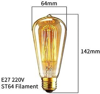 Retro Vintage Edison Bulb E27 (40W/220V) Ampoule Incandescent Bulbs, Vintage Lamps
