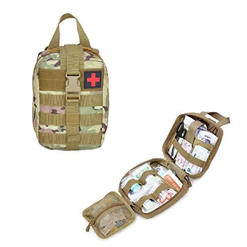 メディカルポーチ 医療バッグ 応急処置セット収納ポーチ 救急ポーチ 軽量 ファーストエイド バック アウトドア 旅行登山 防災 救急用