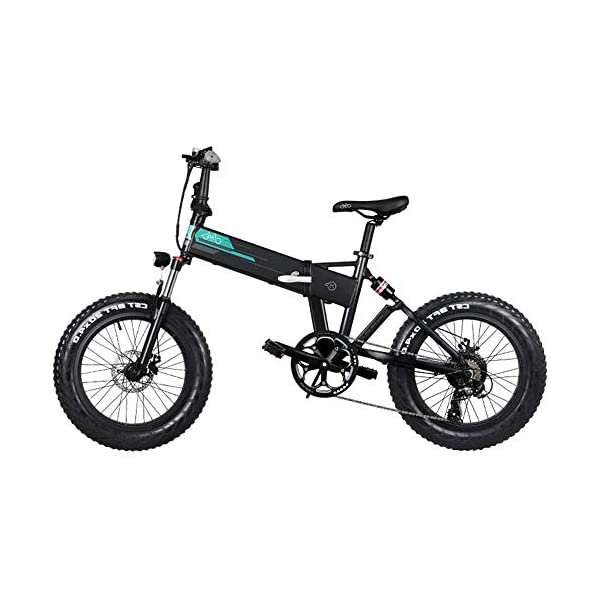 "417xLJ+4HdL. SS600  - YDBET Elektro-Mountainbike, Folding E-Bike 250W Motor 12.5Ah Lithium-Batterie 3 Modus LCD-Display & 20"" Räder Herren Berg E-Bike, Schwarz"