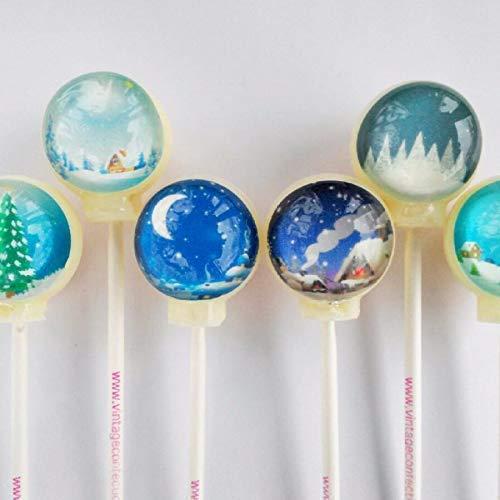 米国正規品 美しすぎて食べられない! 雪降る「I Want Candy!」の スノードームキャンディ