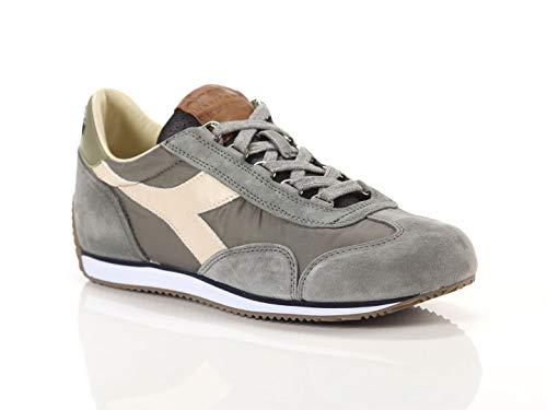 Diadora Heritage, Uomo, Equipe ITA, Suede/Nylon, Sneakers, Grigio, 46 EU