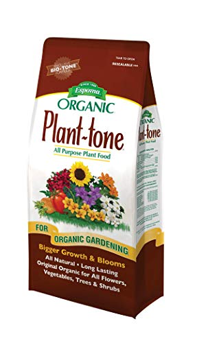 Espoma Plant-Tone Plant Food, Natural & Organic All-Purpose Fertilizer 4 lb, Pack of 1