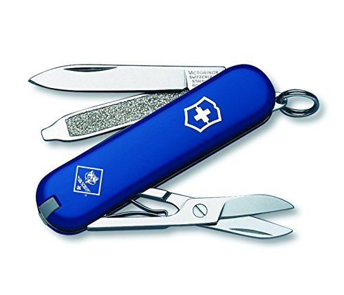 Victorinox Swiss Army Classic SD Cub Scout Pocket Knife, Blue