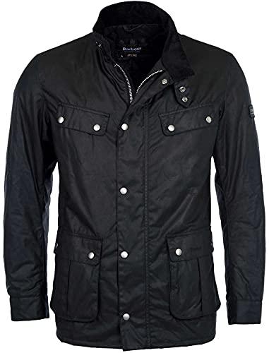 Barbour International Men's Duke Wax Jacket - Black - M - Black
