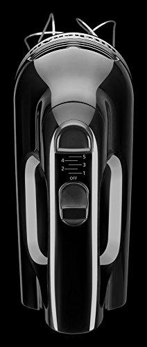 KitchenAid KHM512OB 5-Speed Hand Mixer, Onyx Black