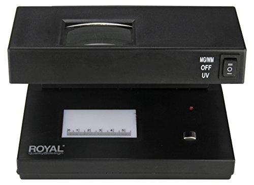 lampara para checar billetes falsos fabricante Royal