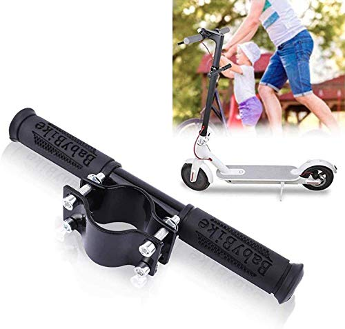 ASEOK Scooter Manillar para niños Barra de Agarre Ajustable Holder Seguro Kids Barandilla para Xiaomi M365 Scooter (Negro)