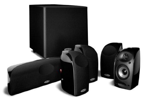Polk Audio TL1600 5.1 Lautsprecher-System mit Subwoofer, schwarz