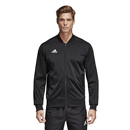 adidas Men's Condivo 18 Polyester Jacket Black/White Large