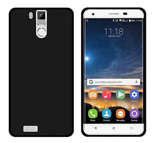 Tumundosmartphone Funda Gel TPU para OUKITEL K6000 / K6000 Pro Color Negra