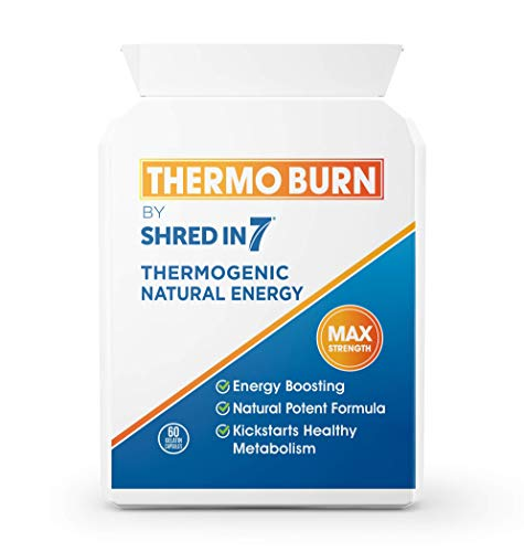 ThermoBurn Fat Metaboliser | Two-Fold Impact Fat Burning Capsules | for Men and Women | 2 Months Supply | EU Safe & Legal Formula | UK Made with Pride in Cambridge