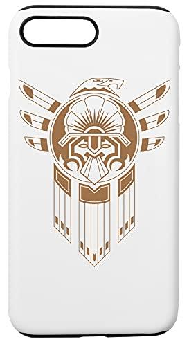 Inca Uccello Tatuaggio Custodia Per Telefono Compatibile Con iPhone 7+, iPhone 8+ Copertura in Plastica + Silicone Dura Hard Plastic Cover