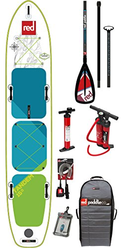 Red Paddle Co 2018 Voyager Tandem 15'0 Inflatable Stand Up Paddle Board...