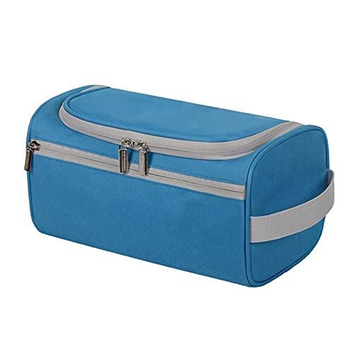 BHUYGV Bolsa Organizadora Cosméticos De Viaje Bolsa De Aseo Portátil para Viaje De Negocios para Hombres Bolsa De Aseo Colgante para Baño (Color : Dark Blue, Size : 25x13x13cm)