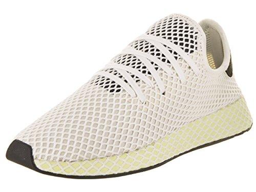 adidas Hombres Deerupt Runner Lace Up Zapatillas Zapatos Casual - Negro, Verde, Blanco - Talla 12 D