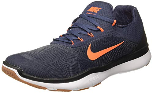 Nike Herren Trainingsschuh Free Trainer V7, Zapatillas de Deporte Hombre, Azul (Thunder Blue/Hyper C 403), 48.5 EU