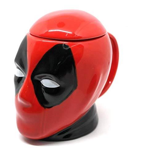 DWZX Copa Taza Divertida de la Oficina 3D del Regalo del café Stir Taza.Idea del Regalo for cumpleaños, Boda, Aniversario y for Momentos Especiales Red, Size : 201-300ml