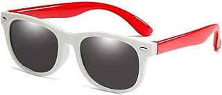 FJCY - Bolsa de Goma para niños Gafas de Sol polarizadas Gafas de Sol para niños Niñas Niños Gafas para bebés Gafas-R01-C13_Bolsa Rosa