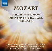 Missa Brevis in D Majo Missa Brevis in B Major Reg