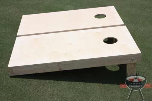 All American Tailgate Non Painted Corn Manufacturer OFFicial shop Weekly update Boards 8 Hole w Cornhole